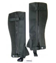 Amara Chaps- Velcro- Black