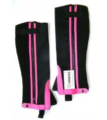 Amara Chaps Velcro Pink
