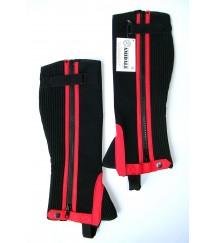 Amara Chaps Velcro Red