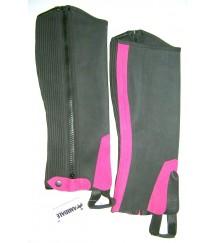 Amara Chaps Button Pink Strip