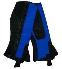 Neoprene Chaps Button Blue