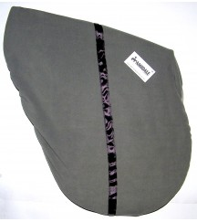 Saddle Cover Stripe Grey