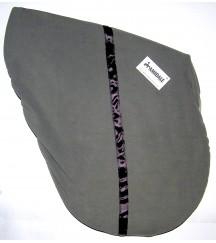 Saddle Cover Stripe Grey