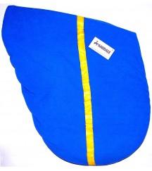 Saddle Cover Stripe R.Blue