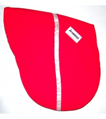 Saddle Cover Stripe Red
