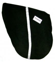 Saddle Cover Stripe Black