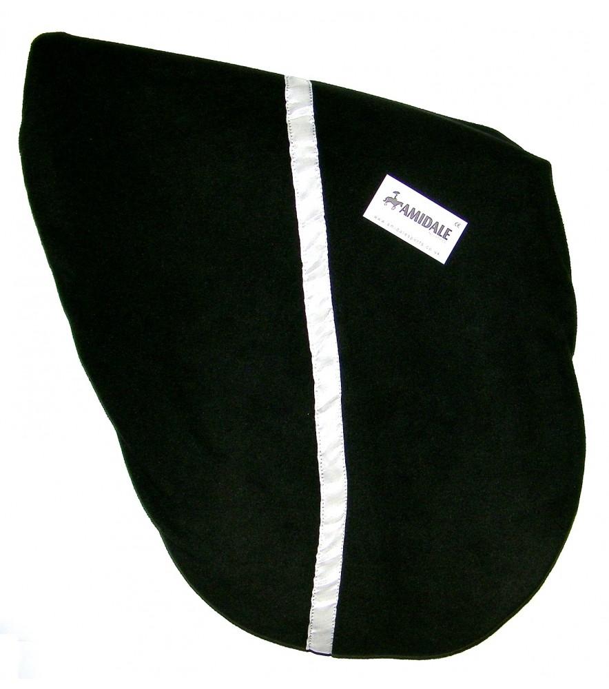 Saddle Cover Stripe Black