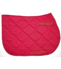 Jumping Saddle Pad Red