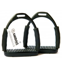 4 Flexi Stirrups Black