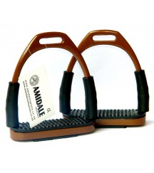 Flexi Stirrups Brown