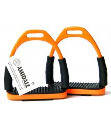 Flexi Stirrups Orange