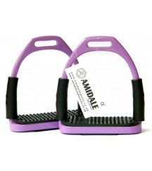 Flexi Stirrups Purple