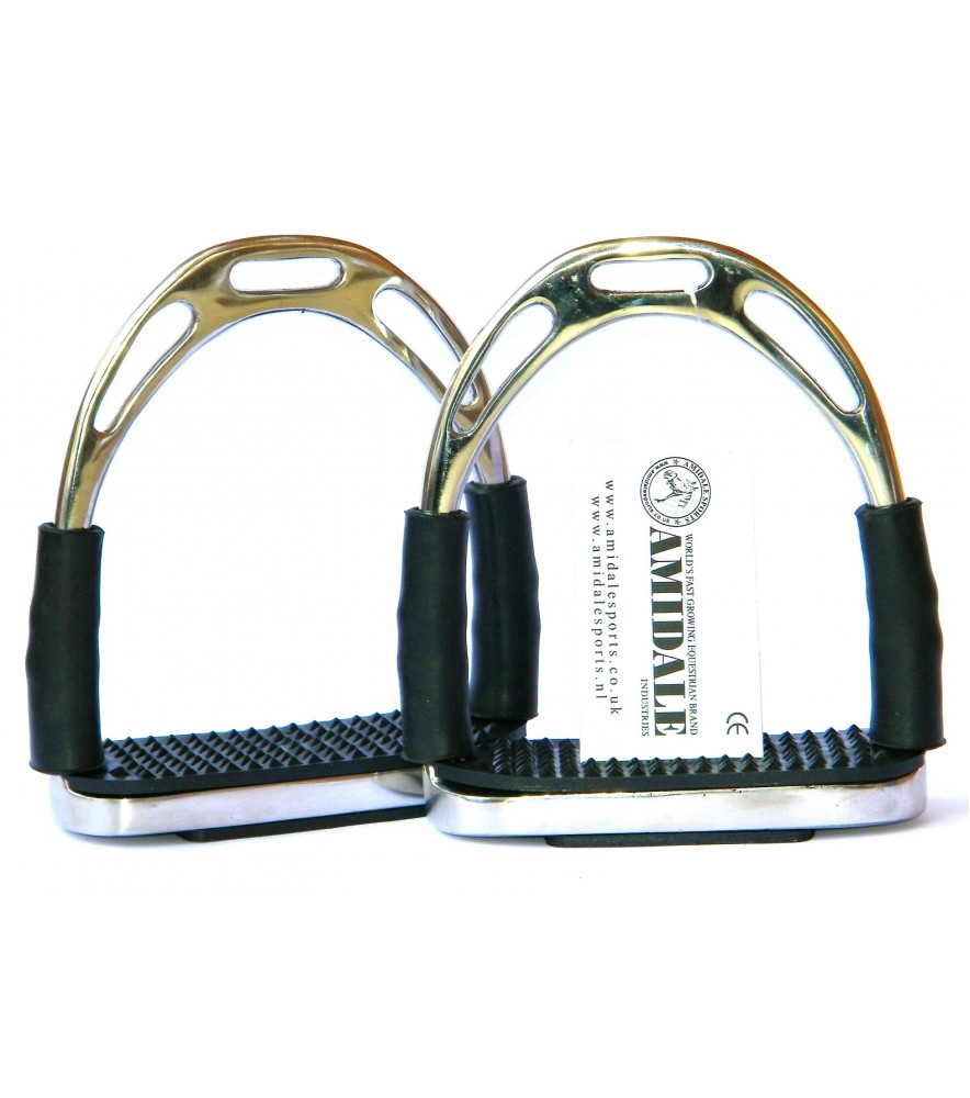 Flexi Jin Stirrups Polished
