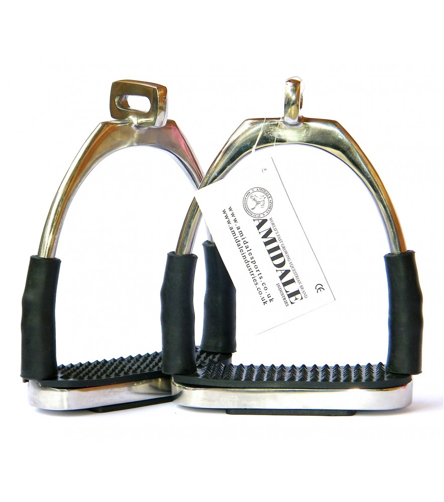 Flexi Offset Eye Stirrups Polished