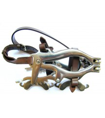Mouth Speculum Brown Leather
