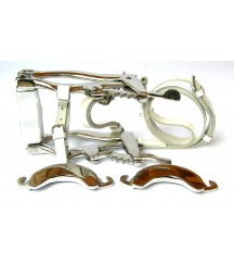 Mouth Speculum White Leather