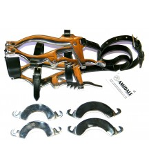 Mouth Speculum Horse&Pony Black-Leather
